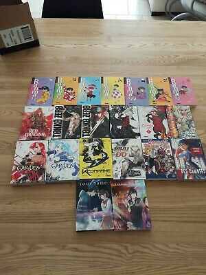 Lot De 21 Mangas Divers