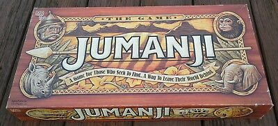 Jumanji The Board Game - Complete 1995 by Milton Bradley