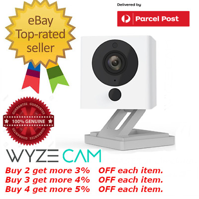 Wyze Cam Wyzecam v2 1080p HD Indoor Wireless Smart Home Camera with Night Vision