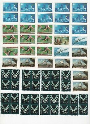 35-Cent Postage Stamp Combos - Enough to Mail 32 Postcards - Face Value $11.20