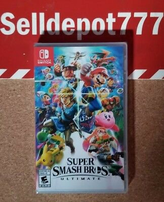Super Smash Bros. Ultimate ( Nintendo Switch ) Brand New