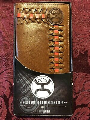 e35a6fa21873 HOOEY BRAND HOOEY Signature Brown Marbling Rodeo Wallet - 1779137W3 ...