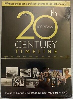 20th Century Timeline - Over 20 Hours of Pop Culture & History (6-DVD Set)