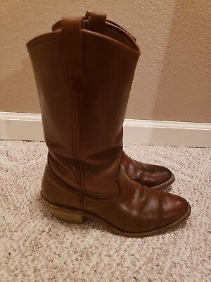 ebcba5f6564 VINTAGE RED WING Men's Model 690 Cowboy Western USA Made Boots Size 9 D