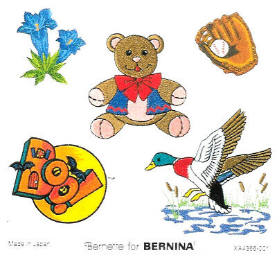 VARIETY #108 Embroidery Card for Ber. Deco, Baby Lock, Brother, Simplicity .pes