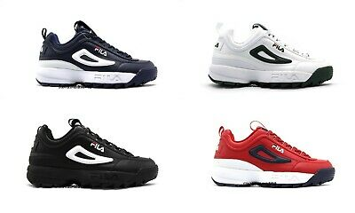 hottest sale selected material hot sale NEW MENS FILA Disruptor 2 Premium Black Red Blue White Green ...