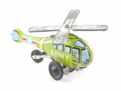 Japan Hubschrauber Helicopter US Army Blech tin toy rare! SG 1604-28-43
