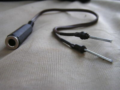 Zenith Transoceanic G 500 H500  and others Headphone adapter
