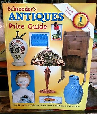 Schroeder's Antiques Price Guide 23rd Edition 2005 Reference Book