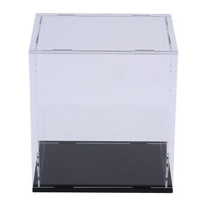 Acrylic Display Case Dustproof Show Box for Doll Action Figure - 8x8x12 Inch