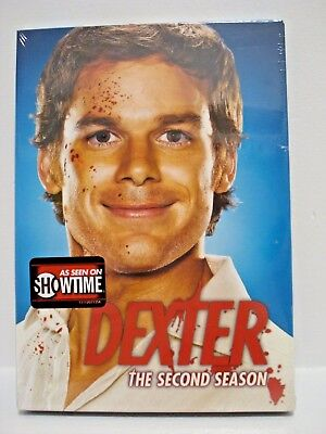 Dexter - The Complete Second Season DVD 2008 4-Disc Set NEW -SEALED