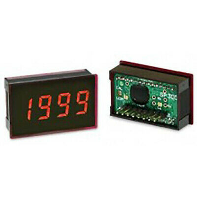 Lascar SP 300 3 1/2-Digit LED Voltmeter w/200 mV DC, 8-Pin SIL, Clip