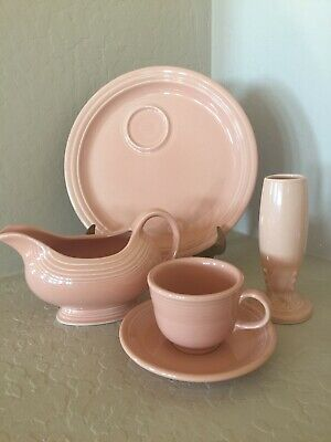 Fiesta Fiestaware Apricot lot of 5 pieces