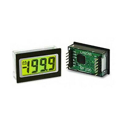 Lascar SP 200 3 1/2-Digit LED Voltmeter w/200 mV DC, LED Backlit, Clip