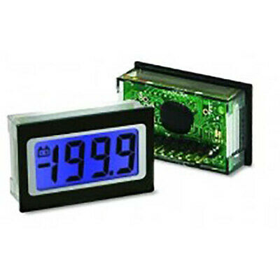 Lascar SP 400-BLUE 3 1/2-Digit LED Voltmeter w/200 mV DC, Blue LED