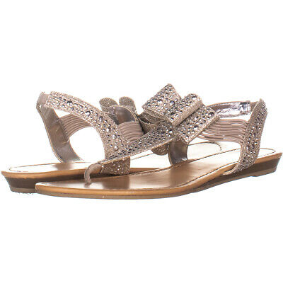 82ef988ae528 MATERIAL GIRL WOMENS Shayleen Open Toe Casual Slingback