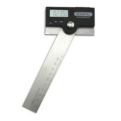 "General Tools 1702 Pro-Angle 6"" Stainless Steel Digital Protractor"