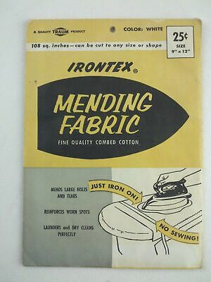 Irontex Mending Fabric Fine Quality Combed Cotton