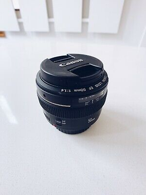 BARELY USED Canon EF 50mm F/1.4 -  Lens For Canon!