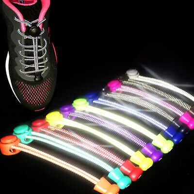 Tie-free Shoeslaces Running Sneakers Strings Reflective Elastic Fashion Durale