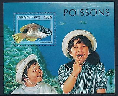 Topical Stamps Benin 978-983 Mint Never Hinged Mnh 1997 Marine Fish Benin