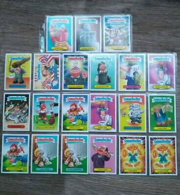 Garbage Pail Kids 2016. As American As Apple Pie. 21 Cards in Mint Condition