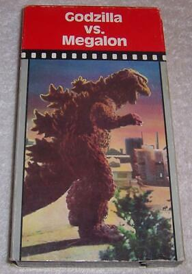 Godzilla vs. Megalon VHS Video