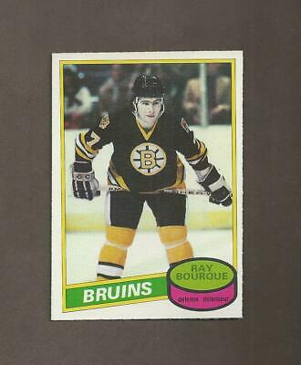 1980-81 🔥 OPC Ray Bourque RC Rookie BRUINS 🔥O Pee Chee NM-MT Hockey Cards