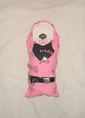 Baby GIRL! My Daddy Rides A Harley-Harley Diaper Cake Baby!!!!