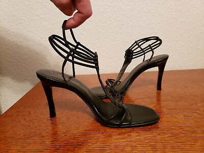 87145492e8be 2 Pairs Black heels sandals size 7 gently worn Nine   Company   Summer Rio