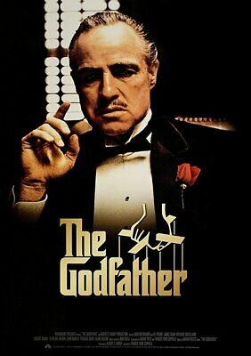 "The Godfather Movie Mini Poster 4"" x 6"" Fridge Magnet Glossy Photo Quality #1"