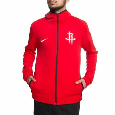 08aceb42e7dd Nike Houston Rockets NBA Dri-FIT Showtime Full Zip Hoodie Small S  940878  657