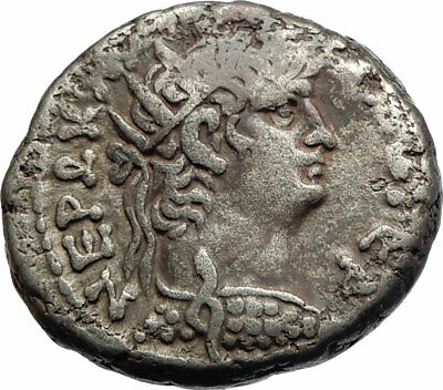 NERO Ancient 64AD Alexandria Egypt Tetradrachm Ancient Roman Coin EAGLE i74897