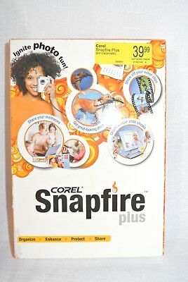 Corel Snapfire Plus New Retail Box - Sealed