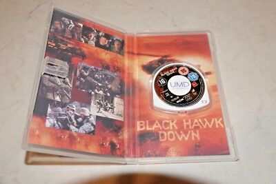Sony PSP UMD Disc Blackhawk Down collectable item