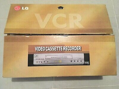 LG GC990W 6 Head VHS VCR Video Cassette Recorder With Remote