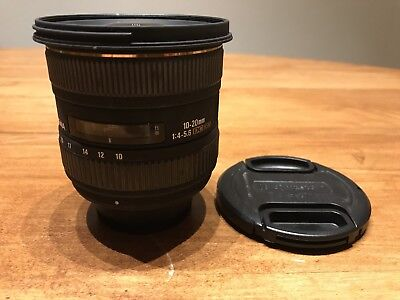Sigma EX 10-20mm 1:4-5.6 HSM EX DC Lens DSLR Parts Repairs