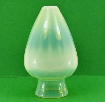 Art & Crafts Vaseline glass lamp shade  Powell ? W A S Benson 14  X 8.5 cm