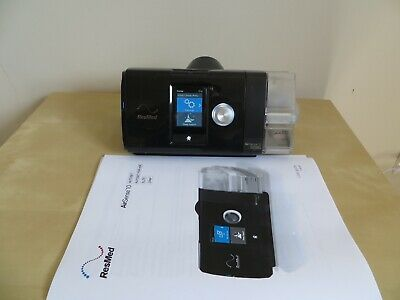 RESMED Airsense S10 CPAP  AUTOSET machine+Humidifier CPAP Only 61 hours used