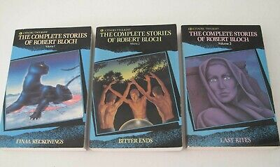 The Complete Stories Of Robert Bloch: Volumes 1-3 Citadel Twilight/carol 1990-91