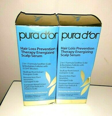 2 Pura D Or Hair Loss Prevention Therapy Energizing Scalp Serum