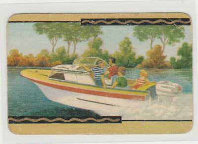 1  Single  Swap  Card   -   Coles / People  In  A  Speed  Boat