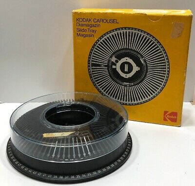 Kodak Carousel Diamagazin 80 Slide Tray Made in Germany - Complete In Box