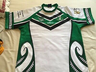 new zealand kiwi maori rugby league size L by isc the only one on ebay bnwot