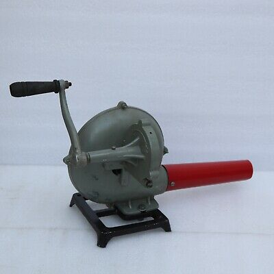 Vintage Style Forge Furnace With Hand Blower Fan Pedal Type Handle Blacksmith