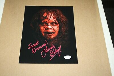"Linda Blair Signed Autographed 8X10 Photo ""Regan"" The Exorcist Red Image Jsa"