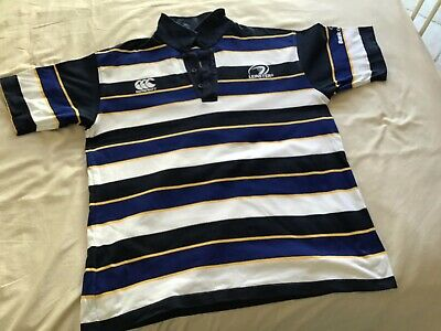leinster rugby union polo shirt size XL canterbury
