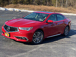 2018 Acura TLX Advance SH-AWD 2018 Acura TLX Advance SH-AWD with extras