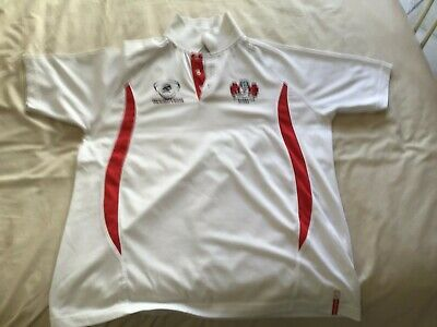 gloucester rugby union polo shirt size L by rugbytech