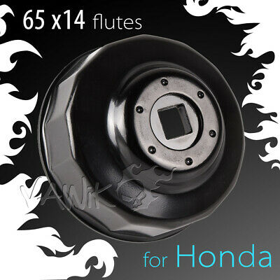 VAWiK 65mm 14 flutes oil filter socket wrench cup tool for Honda Hawk motorcycle